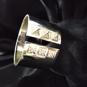 Victoria's Secret Gold & Crystal Cuff